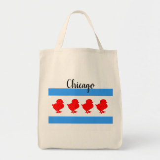"""""""Chicago Chick"""" Tote"""