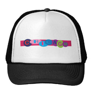 Chicago-Circles-2.eps Trucker Hat