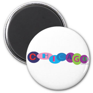 Chicago-Circles-3 Magnet