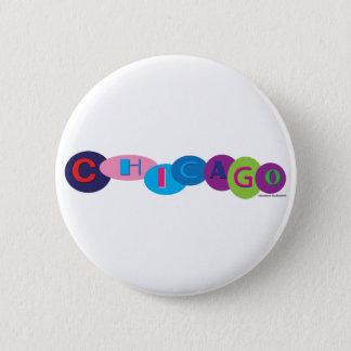 Chicago-Circles-3 Pinback Button