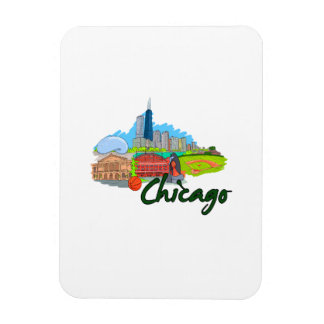 chicago city  3  travel graphic.png rectangular magnets