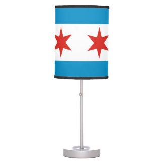 chicago city flag united states america desk lamps