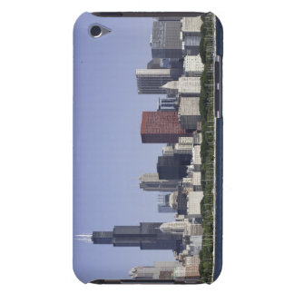 Chicago city skyline with Lake Michigan Barely There iPod Case