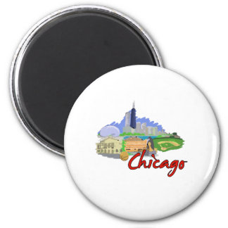 chicago city watercolor  travel graphic.png fridge magnets