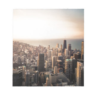 Chicago cityscape notepad