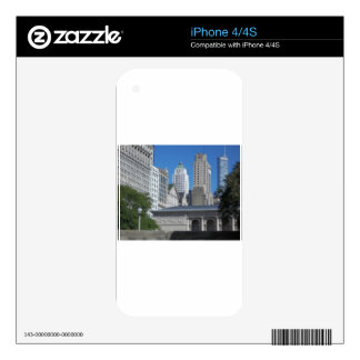 Chicago cityscape skins for the iPhone 4S