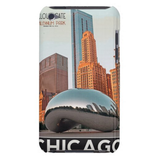 Chicago - Cloud Gate at Millenium Park Barely There iPod Case