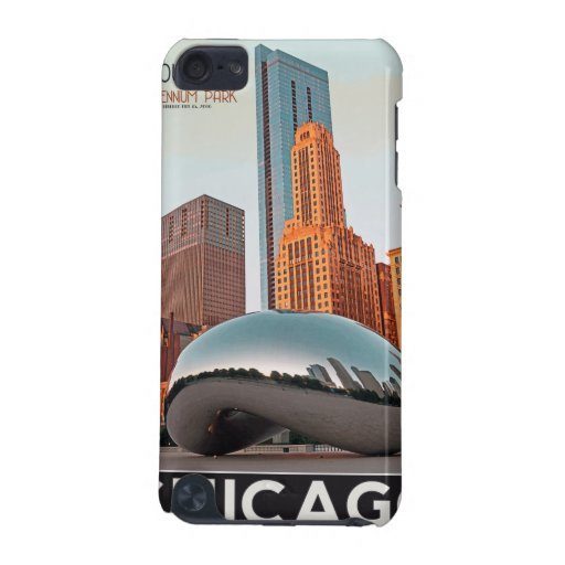 Chicago - Cloud Gate at Millenium Park iPod Touch (5th Generation) Covers