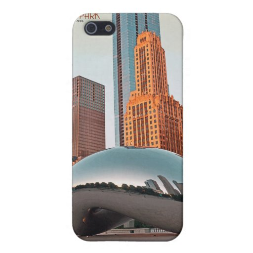 Chicago - Cloud Gate at Millenium Park Cases For iPhone 5