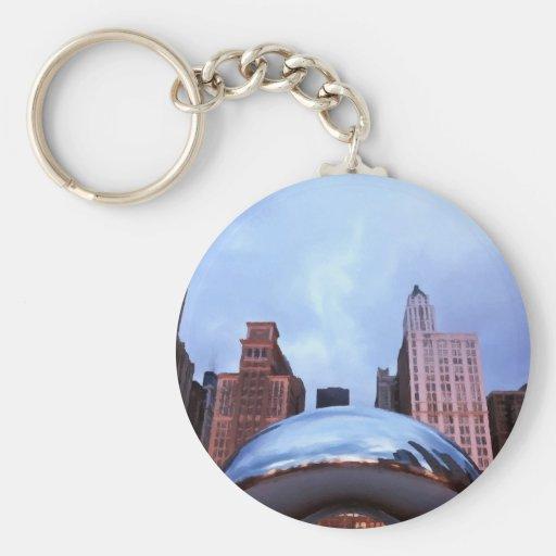 Chicago Cloud Gate Key Chains