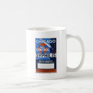 Chicago controlará sífilis taza