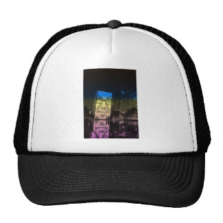 Chicago Crown Fountain Millennium Park Trucker Hat