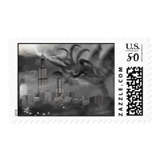Chicago Cthulhu Postage