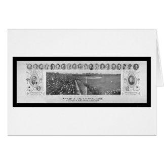 Chicago Cubs Baseball Champions Photo 1907 Greeting Card