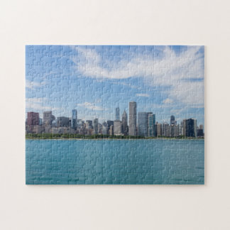 Chicago Day Cityscape Jigsaw Puzzle
