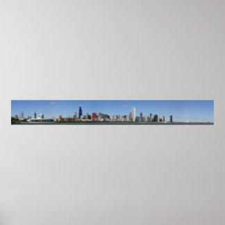 Chicago Daytime Skyline Poster