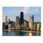Chicago de la impulsión de la orilla del lago postales
