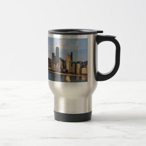 Chicago de la impulsión de la orilla del lago taza