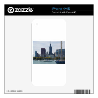 chicago decals for iPhone 4S