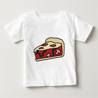 Chicago Deep Dish Style Pizza Baby T-Shirt