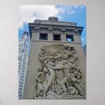 Chicago Defense Pillar Poster
