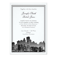 Chicago Destination Wedding Invitation