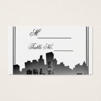 Chicago Destination Wedding Place Card