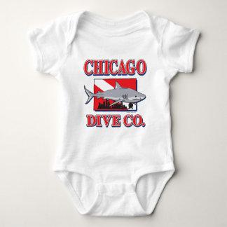 Chicago Dive Company Baby Bodysuit