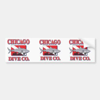 Chicago Dive Company Bumper Sticker