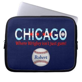 ¡Chicago, donde no está apenas goma Wrigley! Fundas Computadoras