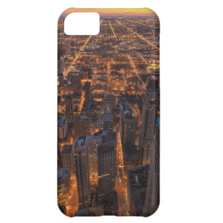 Chicago downtown at sunset case for iPhone 5C