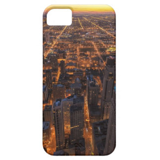 Chicago downtown at sunset iPhone SE/5/5s case