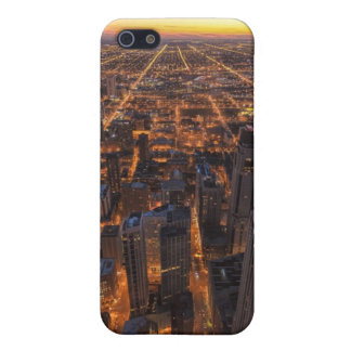 Chicago downtown at sunset iPhone SE/5/5s cover