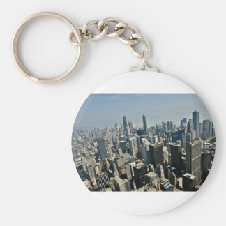 Chicago Downtown Keychain