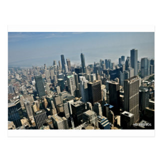 Chicago Downtown Post Card