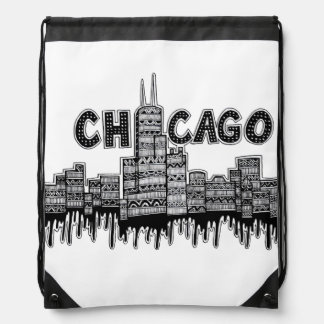 Chicago Drawstring Bag