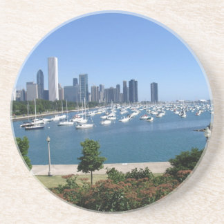 Chicago Drink Coaster