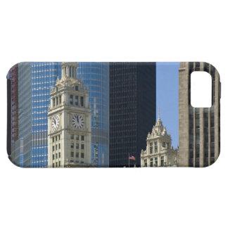 Chicago, edificio de Wrigley con el hotel del Funda Para iPhone SE/5/5s