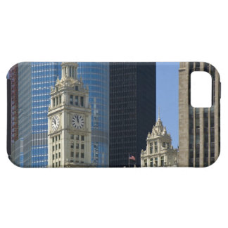 Chicago, edificio de Wrigley con el hotel del iPhone 5 Funda