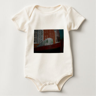 Chicago EL Train Baby Creeper