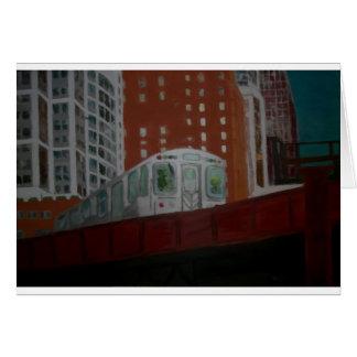 Chicago EL Train Card