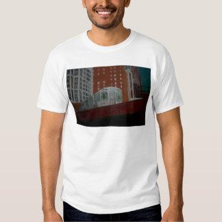 Chicago EL Train T-shirt