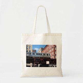 Chicago El Train Tote Bag
