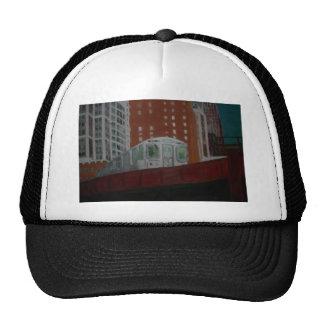 Chicago EL Train Trucker Hat
