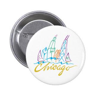 CHICAGO-EMB BUTTON
