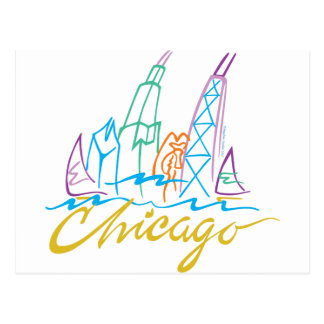 CHICAGO-EMB TARJETA POSTAL