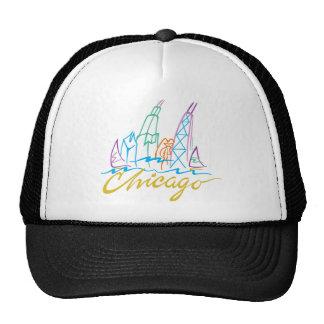 CHICAGO-EMB TRUCKER HAT
