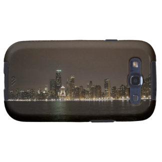 Chicago en la noche samsung galaxy s3 protector