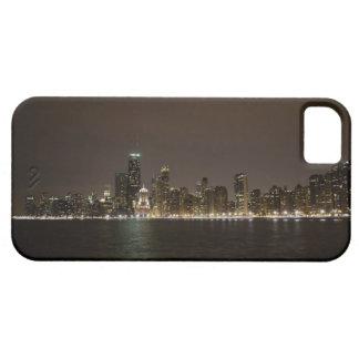 Chicago en la noche iPhone 5 cárcasas