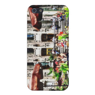 Chicago - Enjoying Lunch on the Magnificent Mile iPhone SE/5/5s Case